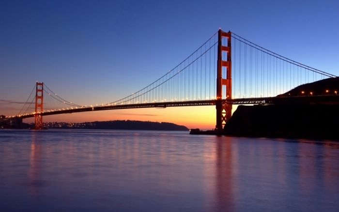 La construccion del Golden Gate como nunca la viste en HD
