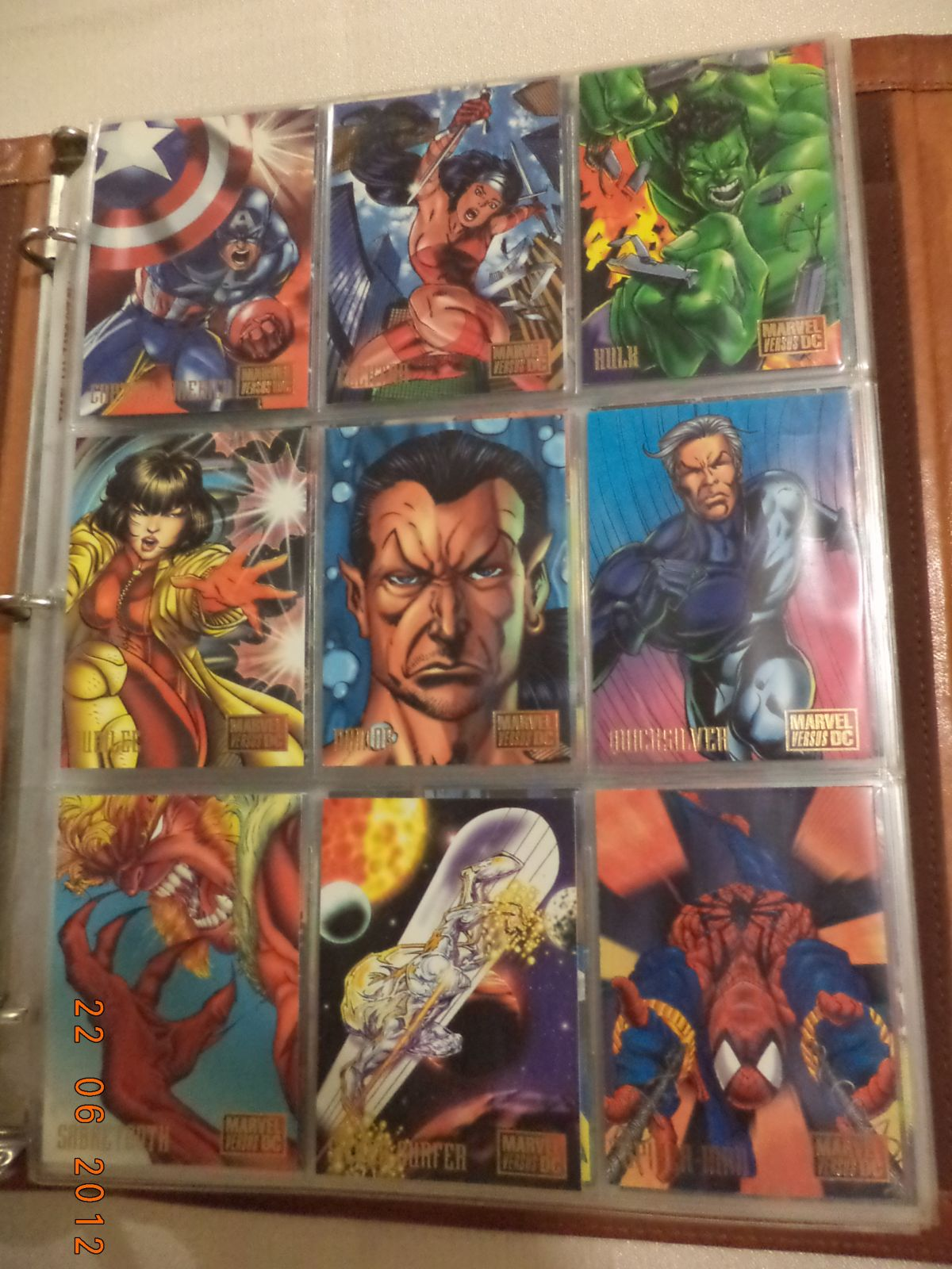 Marvel vs DC te comparto mi coleccion