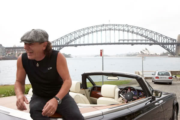 Los autos de Brian Johnson