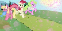 "#PonisParaTodos   ""Spring Has Sprung"" (aka. Background ponies walking)"
