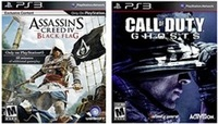Necesito un milagro y que alguien me de un Call of Duty Ghosts y un Assassin's Creed IV Black Flag a cambio de una card de 20, e...
