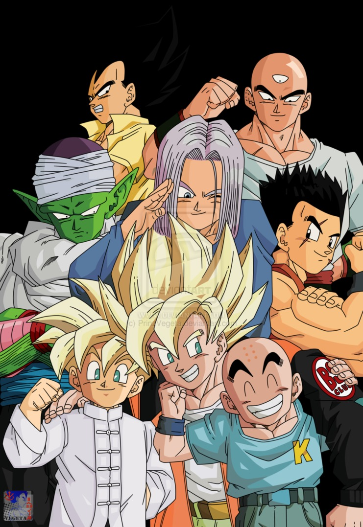 Dragon ball, Z y GT y MAS en HD