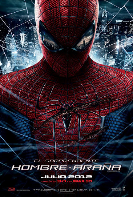 Póster para Japón de The Amazing Spider-Man