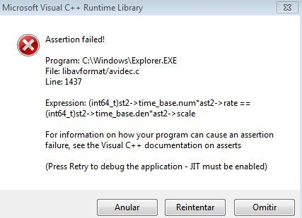 Error C++ runtime library Microsoft Visual Studio