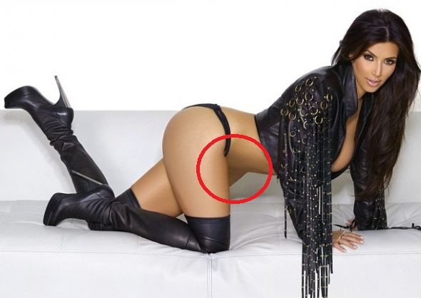 Kim Kardashian Photoshop Fail