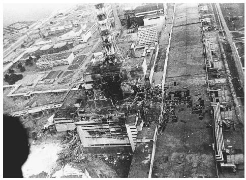 "Megapost ""Accidente de Chernobyl"""
