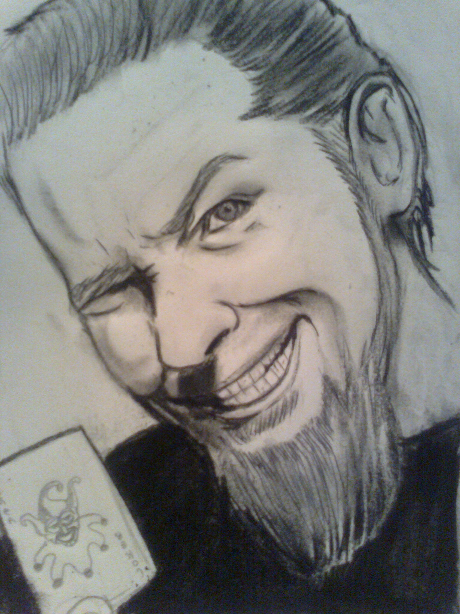 dibujo de james hetfield (metallica)