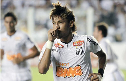 'Quiero copiar a Lionel Messi': Neymar