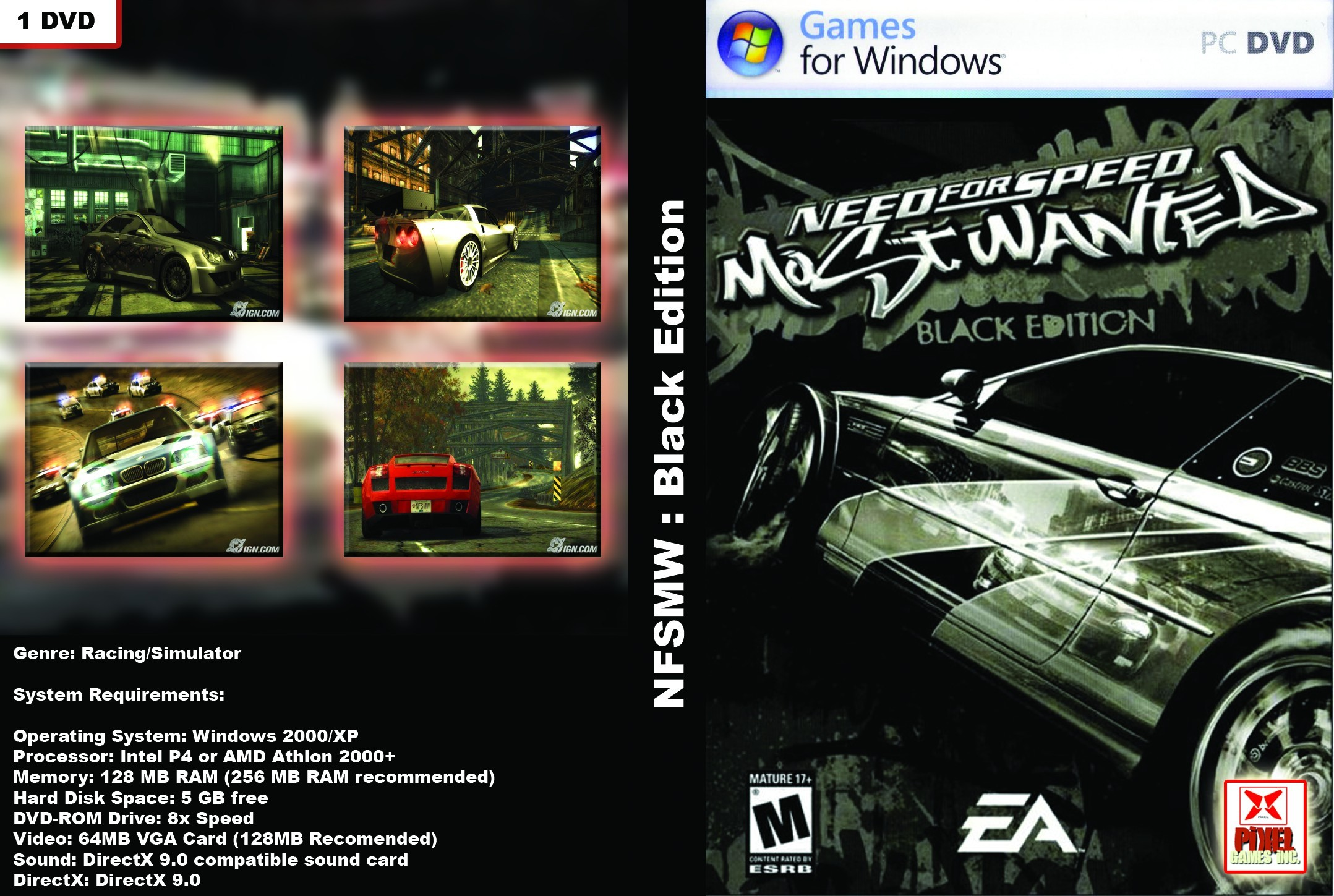 Mi subida nfs most wanted black edition hd pc mega Nfs most wanted para pc